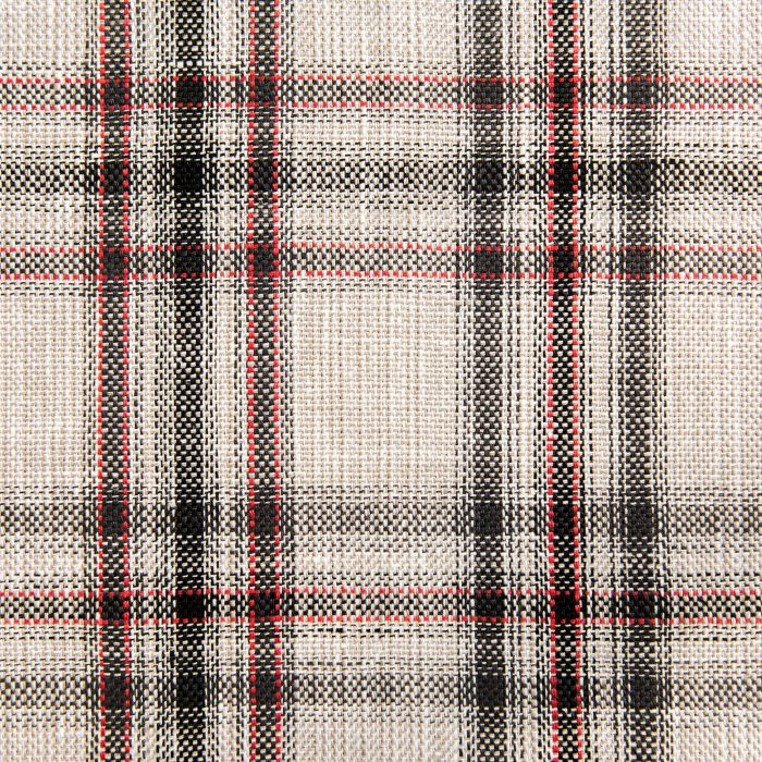 Plaid Mix in multi red