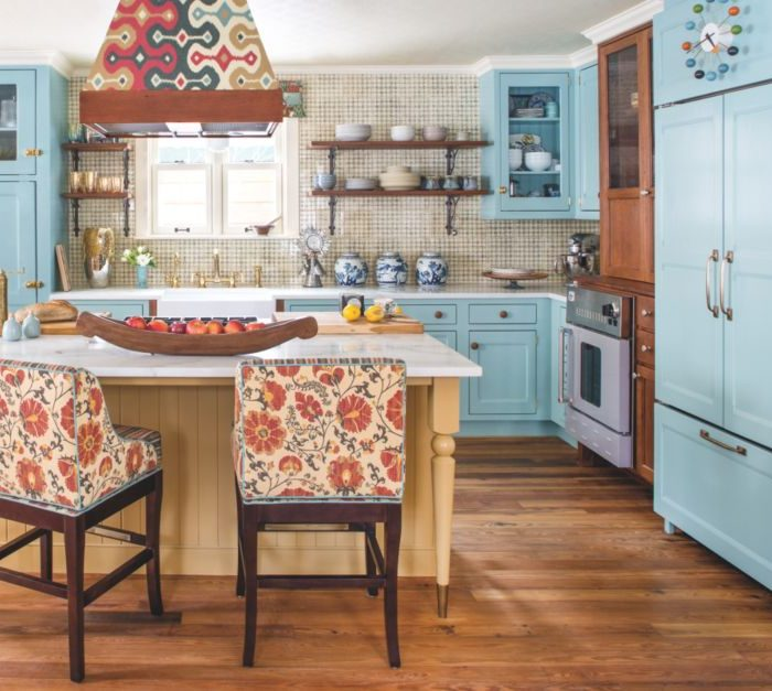 Colorful Cabinet Trends