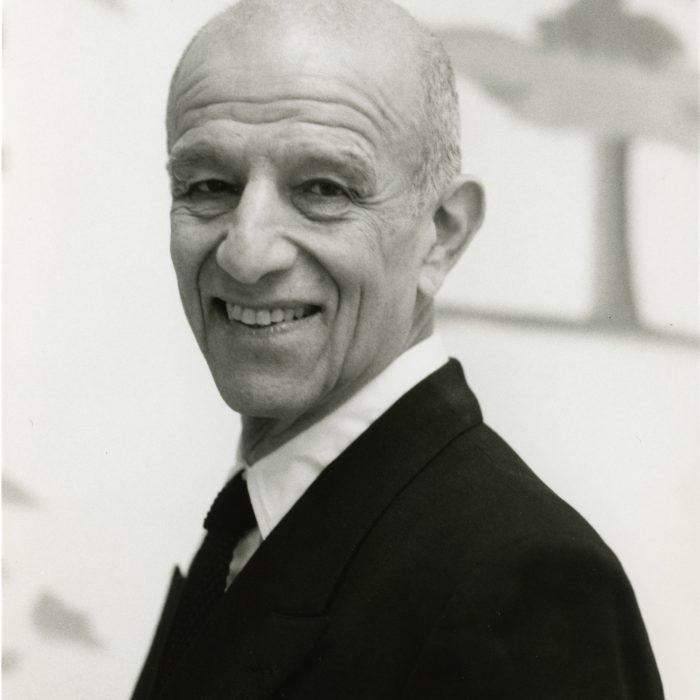 Alex Katz, 2004. Photograph by Vivien Bittencourt