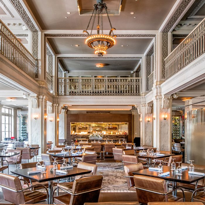 The Beaux Arts-influenced Georgia Terrace Hotel in Midtown is one of more than 50 architectural sites featured on the American Institute of Architects' Open House Atlanta tour October 19-20.