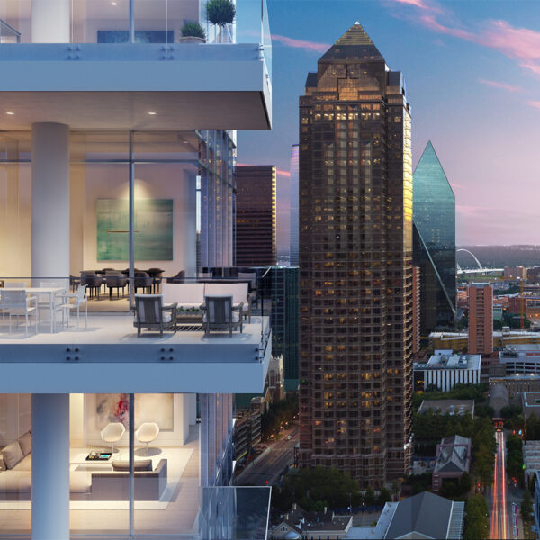 Explore A Dallas High-Rise Ideal For Architecture Buffs