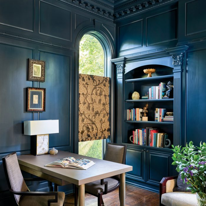11 Rooms With Monochromatic Millwork We're Mooning Over