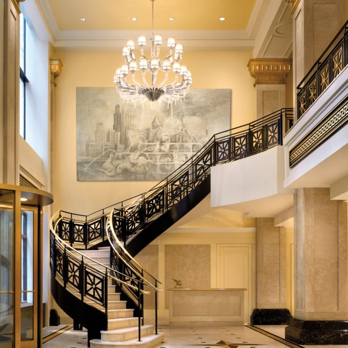 Light Fixtures Double As Art In These Chicago Hotels