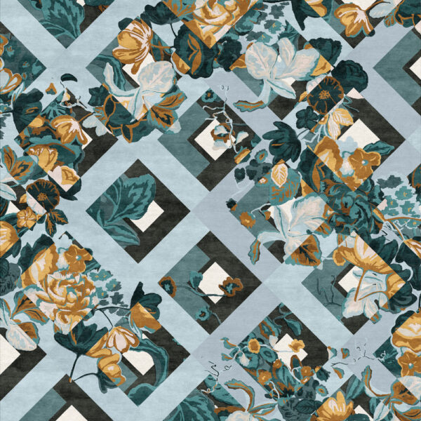 Classic Floral Patterns Meet High Fashion In These Rugs