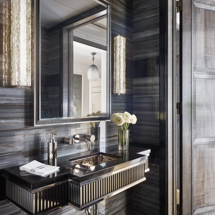 13 Punchy Powder Rooms To Add Personality To Your Home