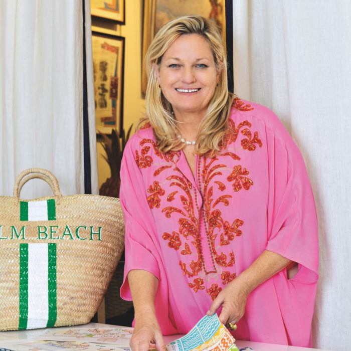 "Much like her storyboards, Lindroth's boutique, which she opened two years ago, is a living collage for her inspired leisure lifestyle. ""I grew up in South Florida, so the aesthetic is very familiar,"" she says. Splitting her time between her interior design hub in Nassau, Bahamas, and her Palm Beach shop, Lindroth is known for her layered approach and chic resort aesthetic. Much like her storyboards, Lindroth's boutique, which she opened two years ago, is a living collage for her inspired leisure lifestyle. ""I grew up in South Florida, so the aesthetic is very familiar,"" she says. Splitting her time between her interior design hub in Nassau, Bahamas, and her Palm Beach shop, Lindroth is known for her layered approach and chic resort aesthetic."
