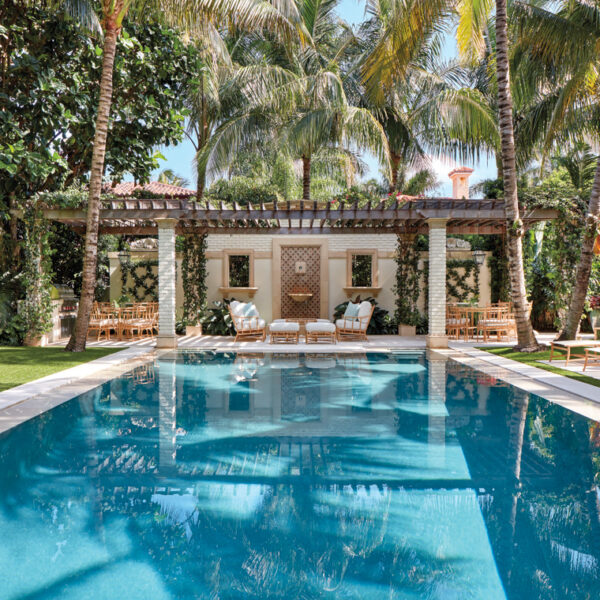 A Designer Returns To Refresh A Serene Palm Beach Retreat