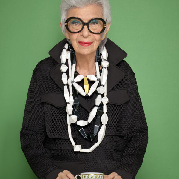Behind The Bling Of The Iris Apfel x Bernardaud Collab