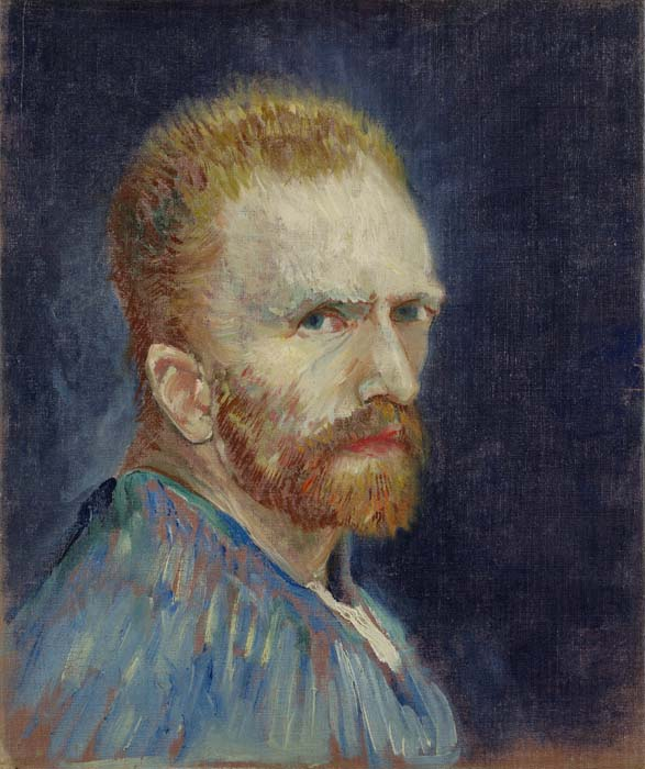 Vincent van Gogh, 1853-1890 Self-Portrait, 1887 Oil on canvas 15.94 x 13.38 in. Wadsworth Atheneum Museum of Art Gift of Philip L. Goodwin in memory of his mother, Josephine S. Goodwin 1954.189