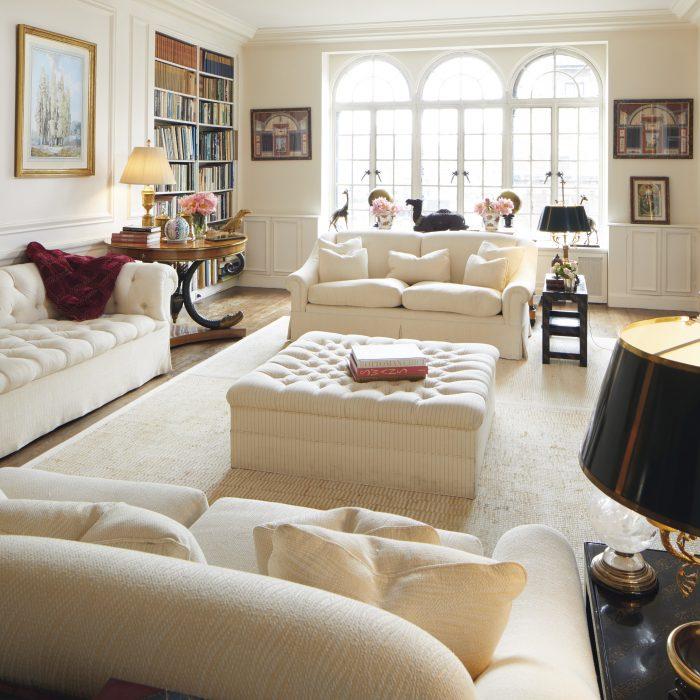Radziwill's New York City apartment on Manhattan's Upper East Side.