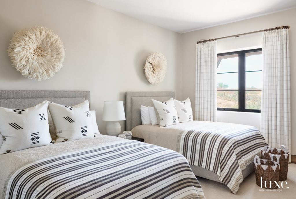 Striped bedding from Designers Linen...