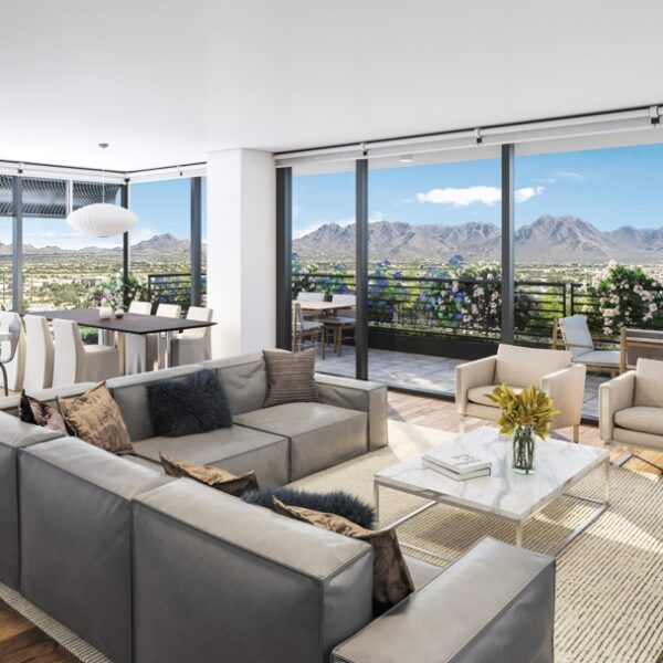 Mountain Views Meet Eco-Luxury At This Scottsdale Tower