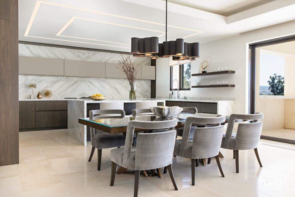 Calacatta Gold Neolith covers the...