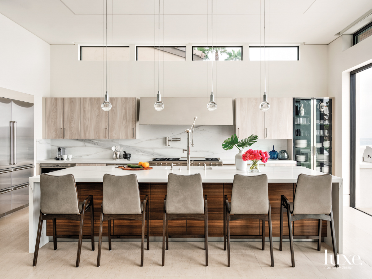 southern california home contemporary kitchen...