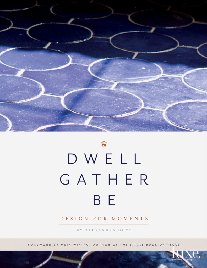 dwell gather be book cover