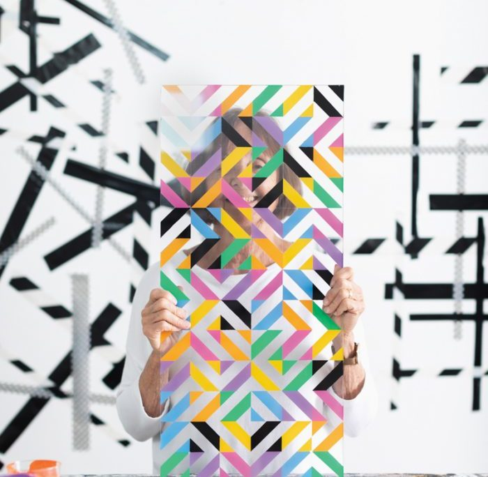 How This Denver Artist Transforms Hardware Store Finds Into Geometric Masterpieces