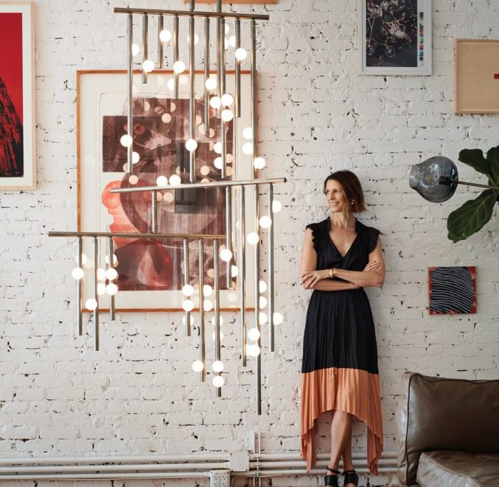 Behind The Creative Process For Lindsey Adelman's New Lighting Studio