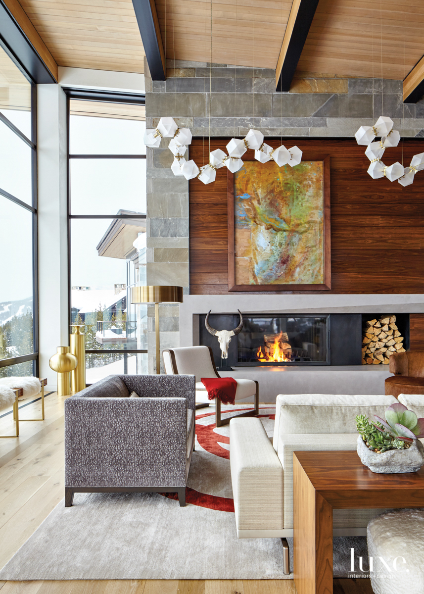 Inside A Big Sky House For Avid Skiers Where All Feel Welcome