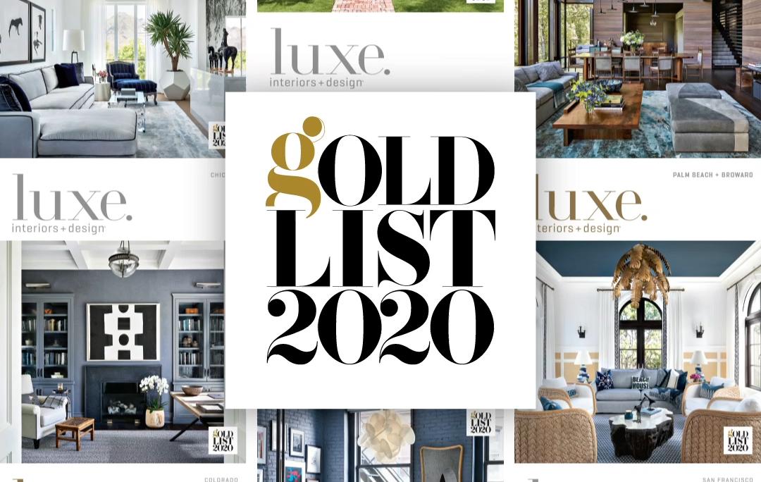 Gold List 2020 Amanda Barnes Interior Design Luxe Interiors Design