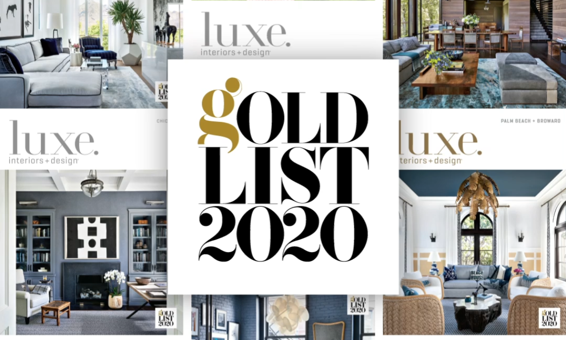 Gold List 2020: Your Select Guide To The Pros In Luxe Interiors + Design