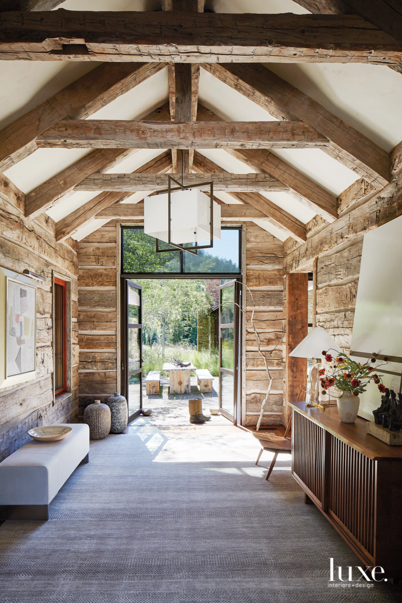 natural elegance rustic room