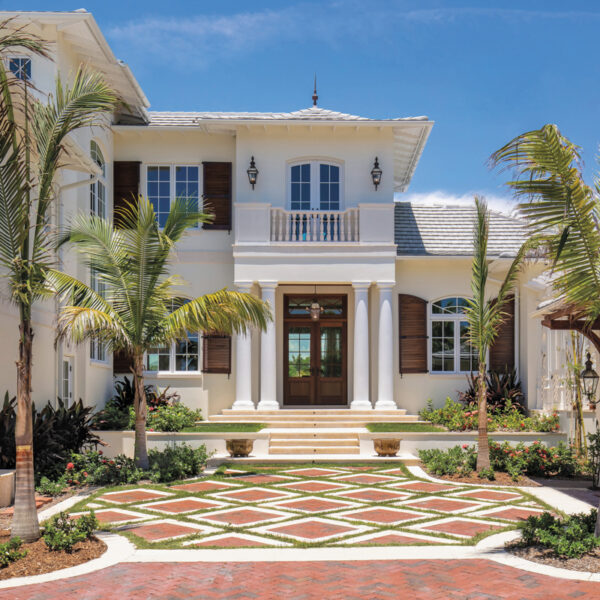 Caribbean Colonial Architecture Provides The Inspo For This Waterfront Florida Home