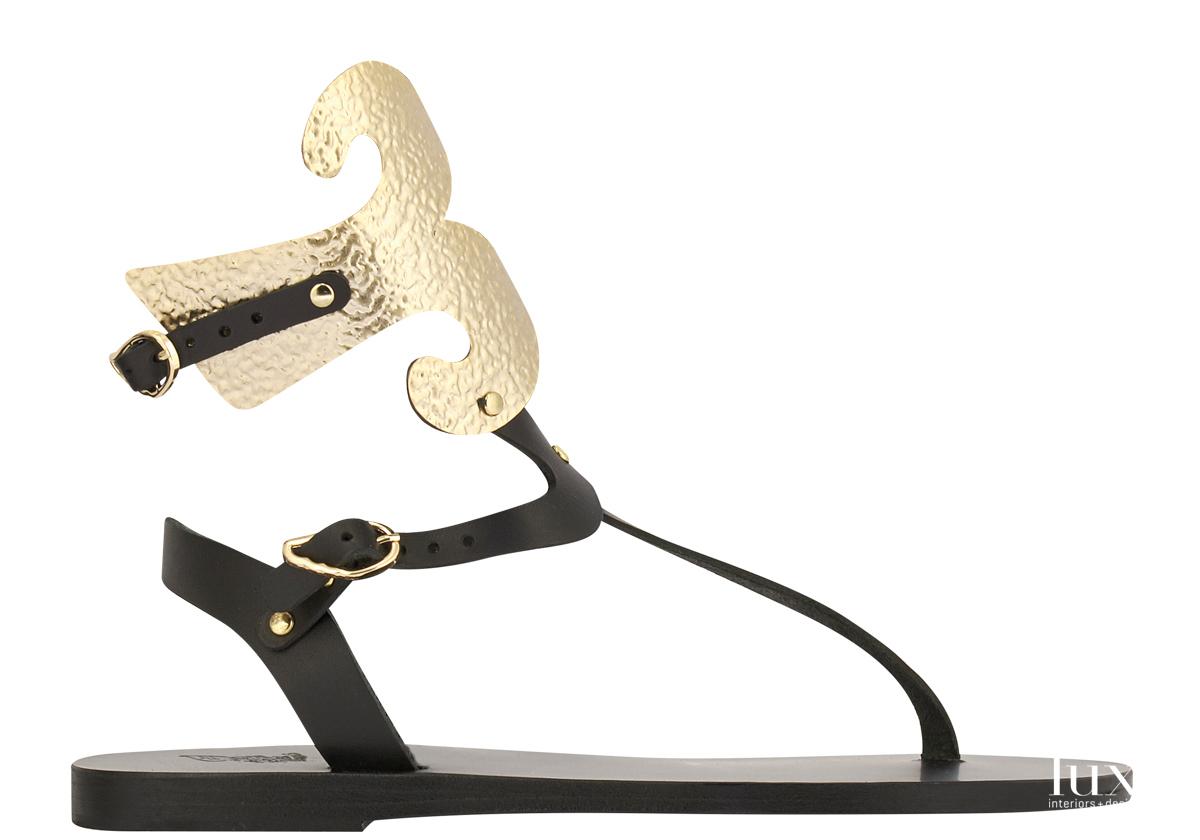 goddess low sandal