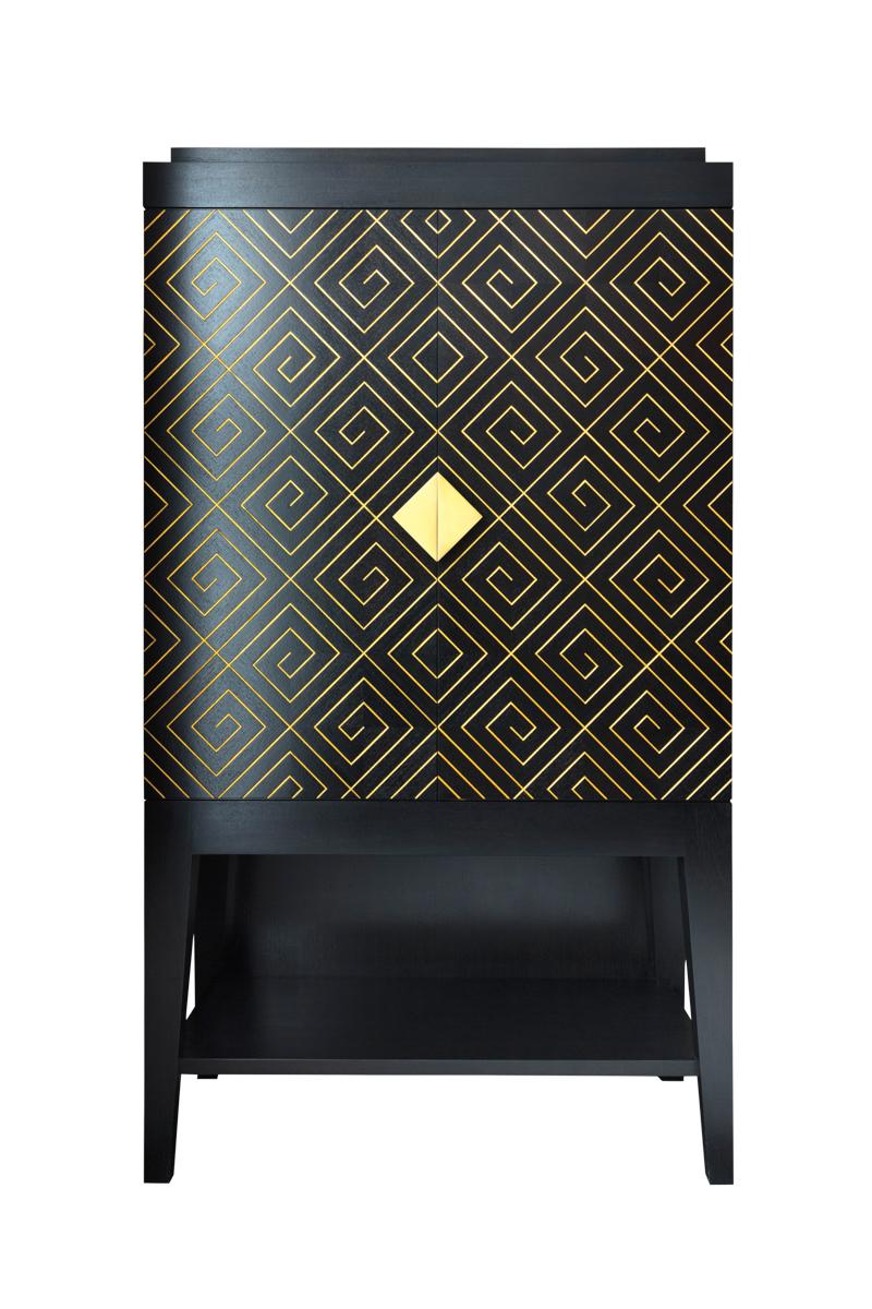 iliad mahogany cabinet