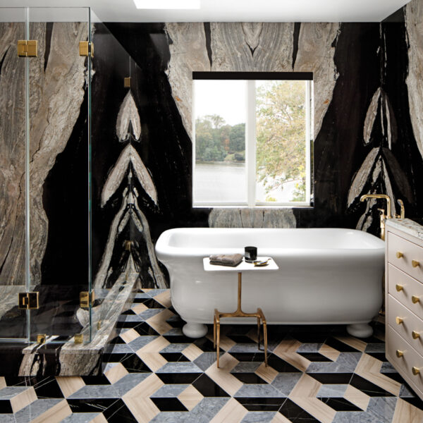 Bring The Drama To The Bathroom With Jewel Box Spaces That Inspire