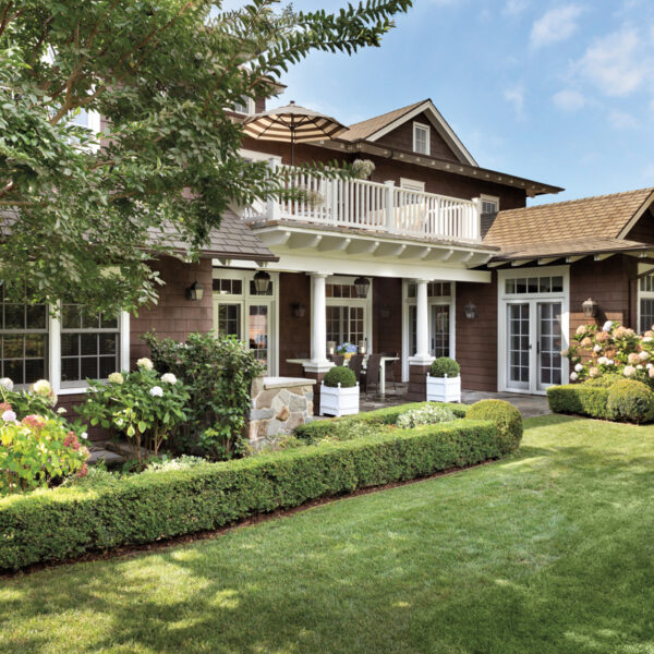 Martha's Vineyard Charm Infuses A New Los Angeles Family Home With A Quiet Palette Of Blues, Creams And Browns