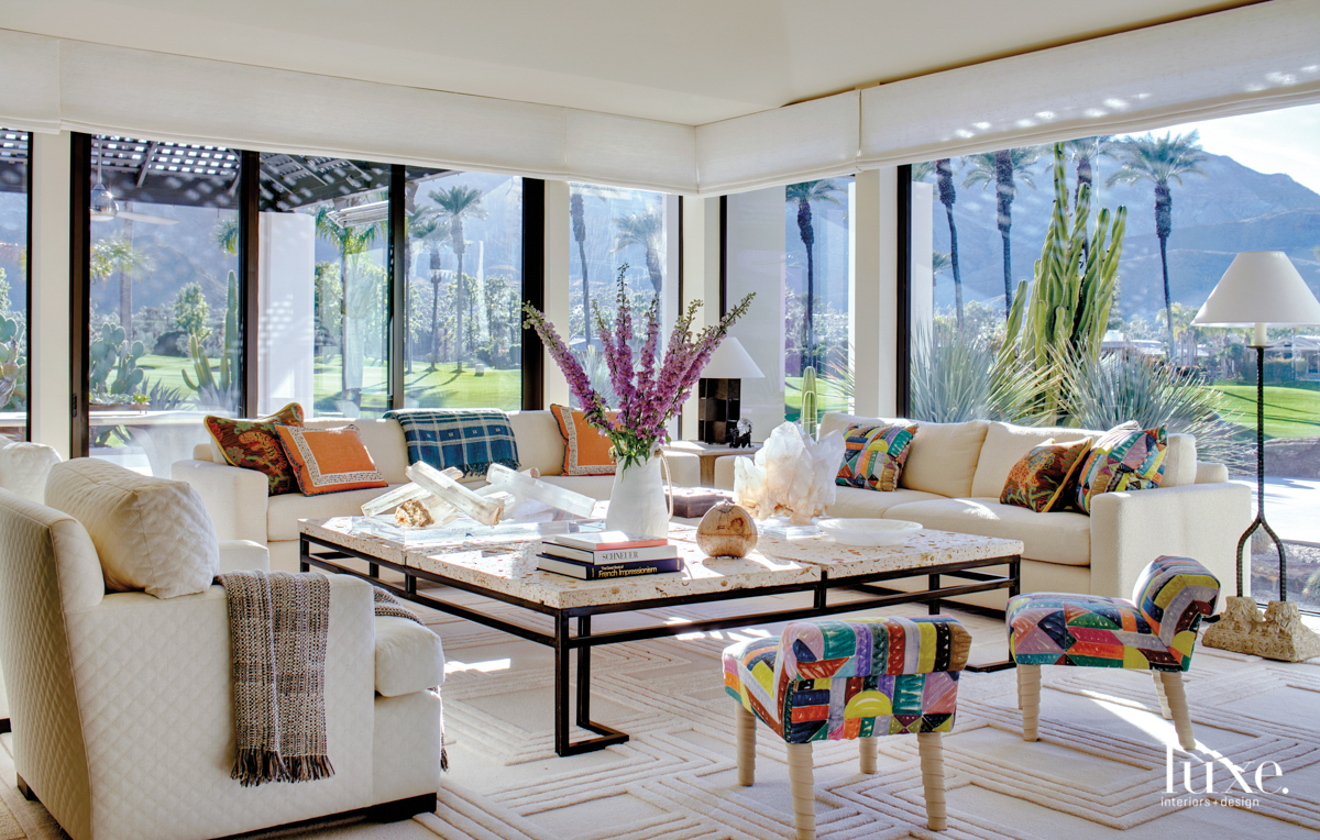Rancho Mirage living room with...