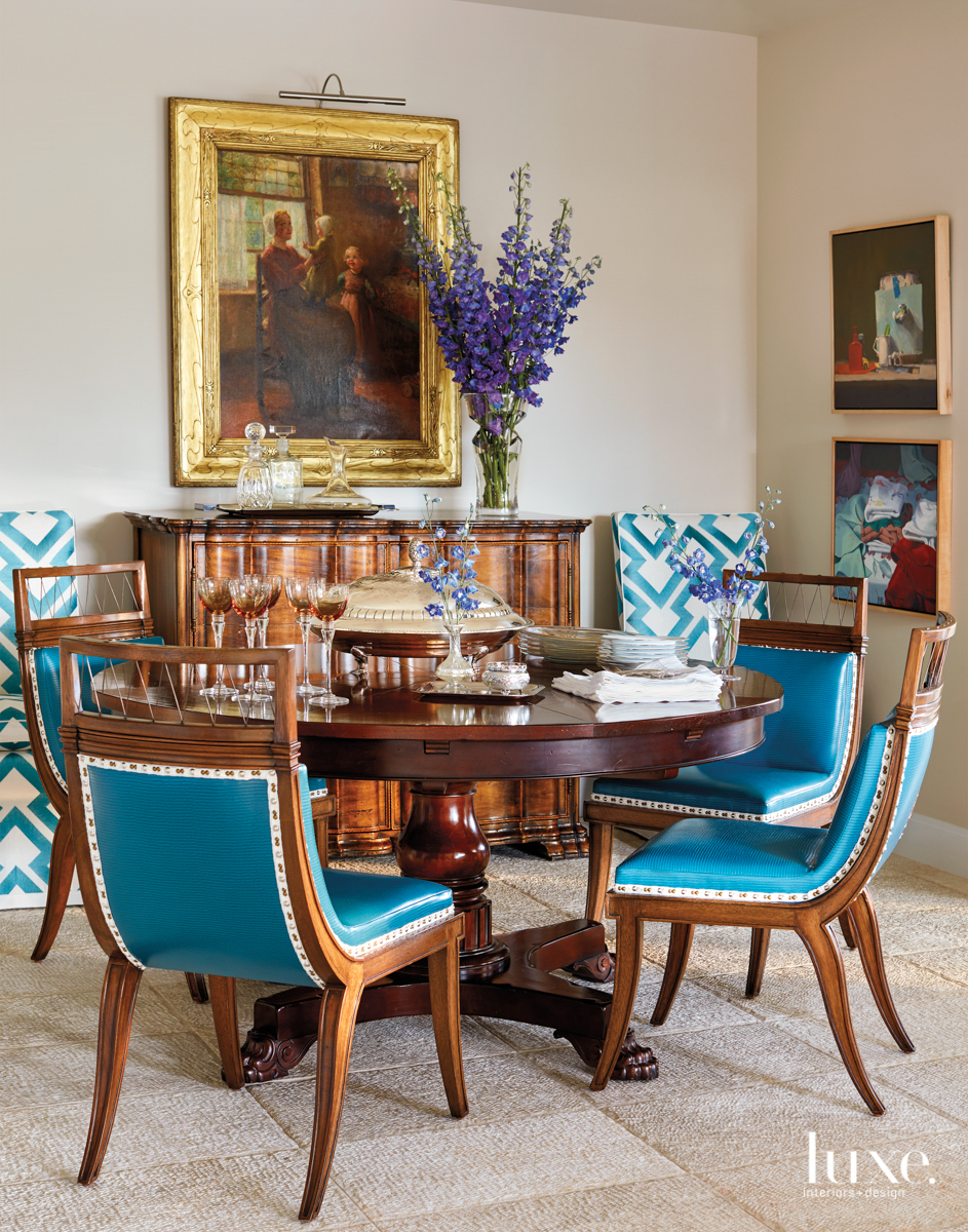 Rancho Mirage dining room with...