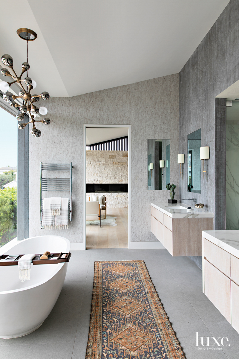 Laguna Beach master bathroom