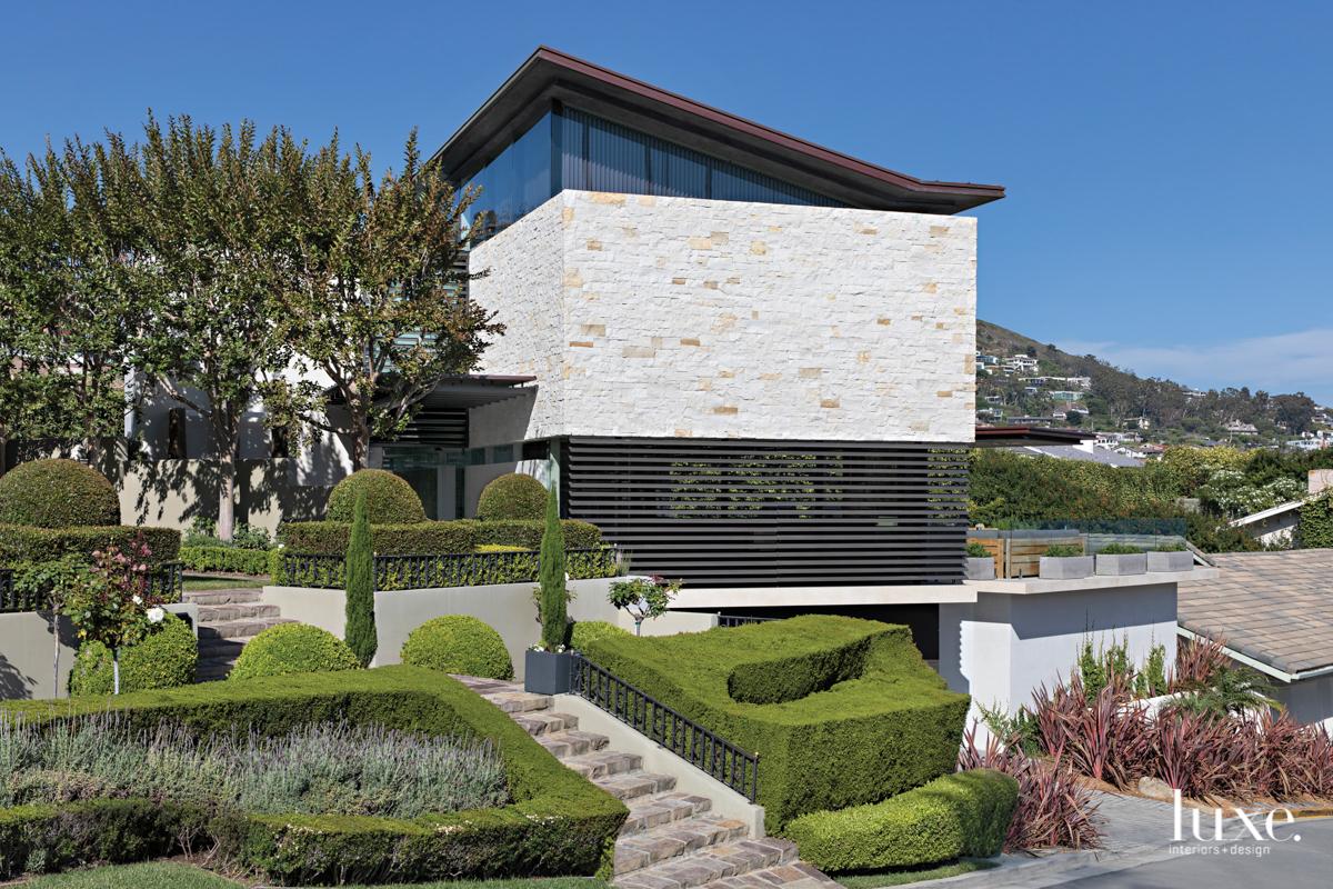 Laguna Beach facade