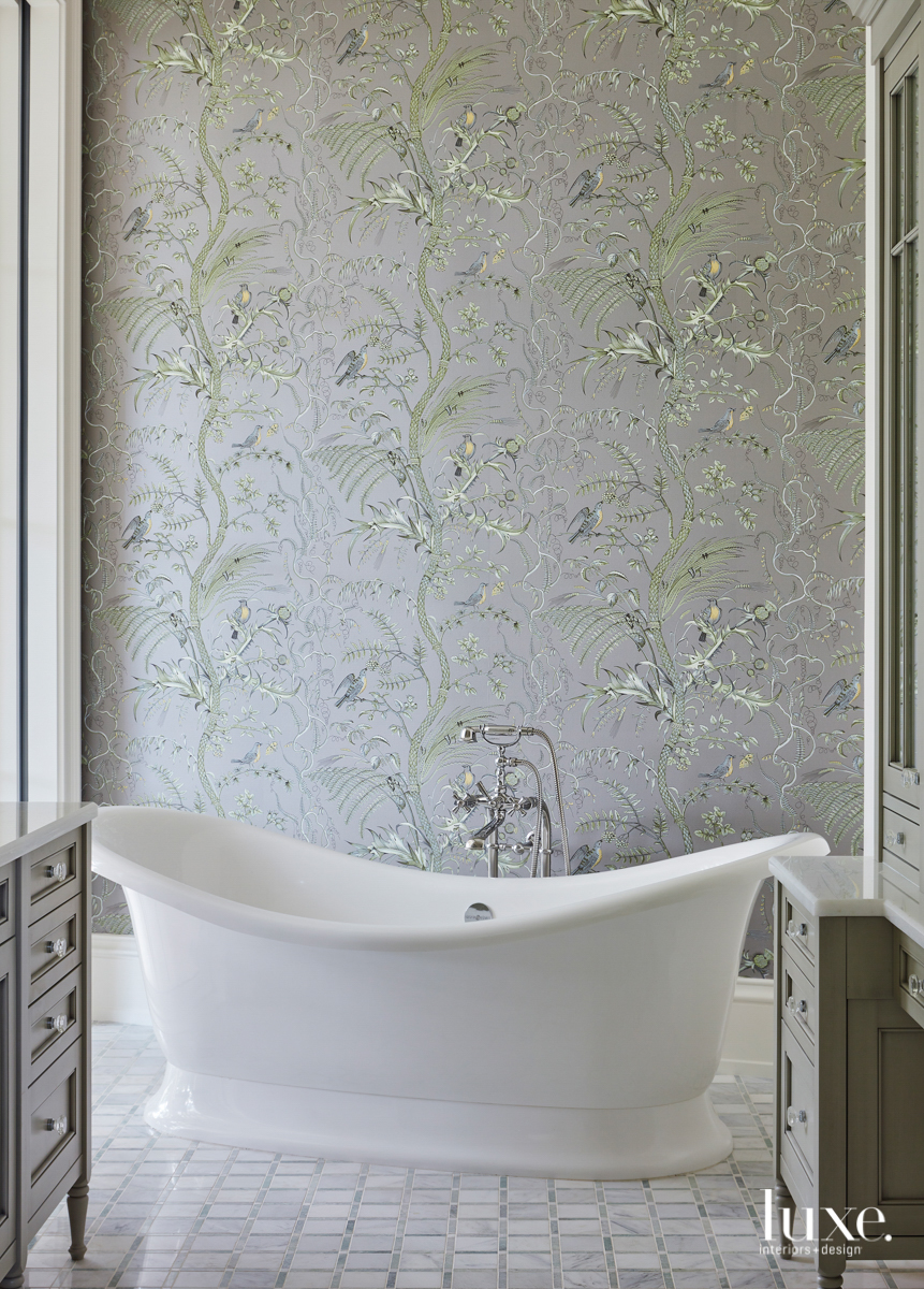 master bathroom victoria + albert...