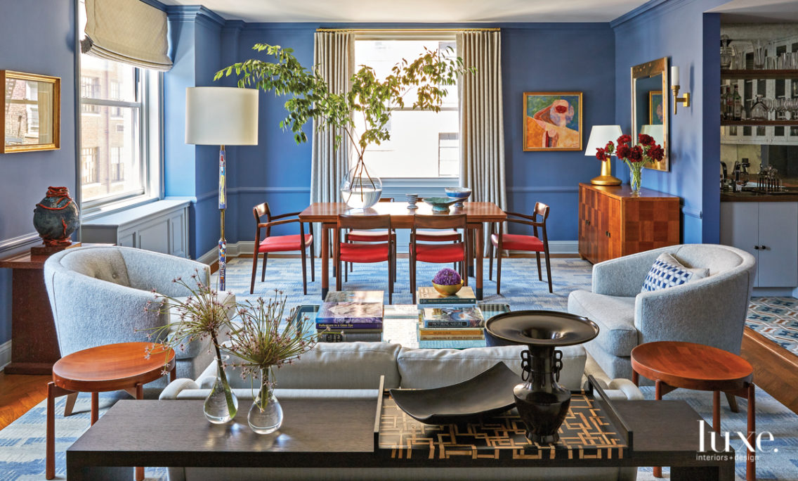 A Spunky Color Story Elevates A PreWar Duplex With Old New York Charm