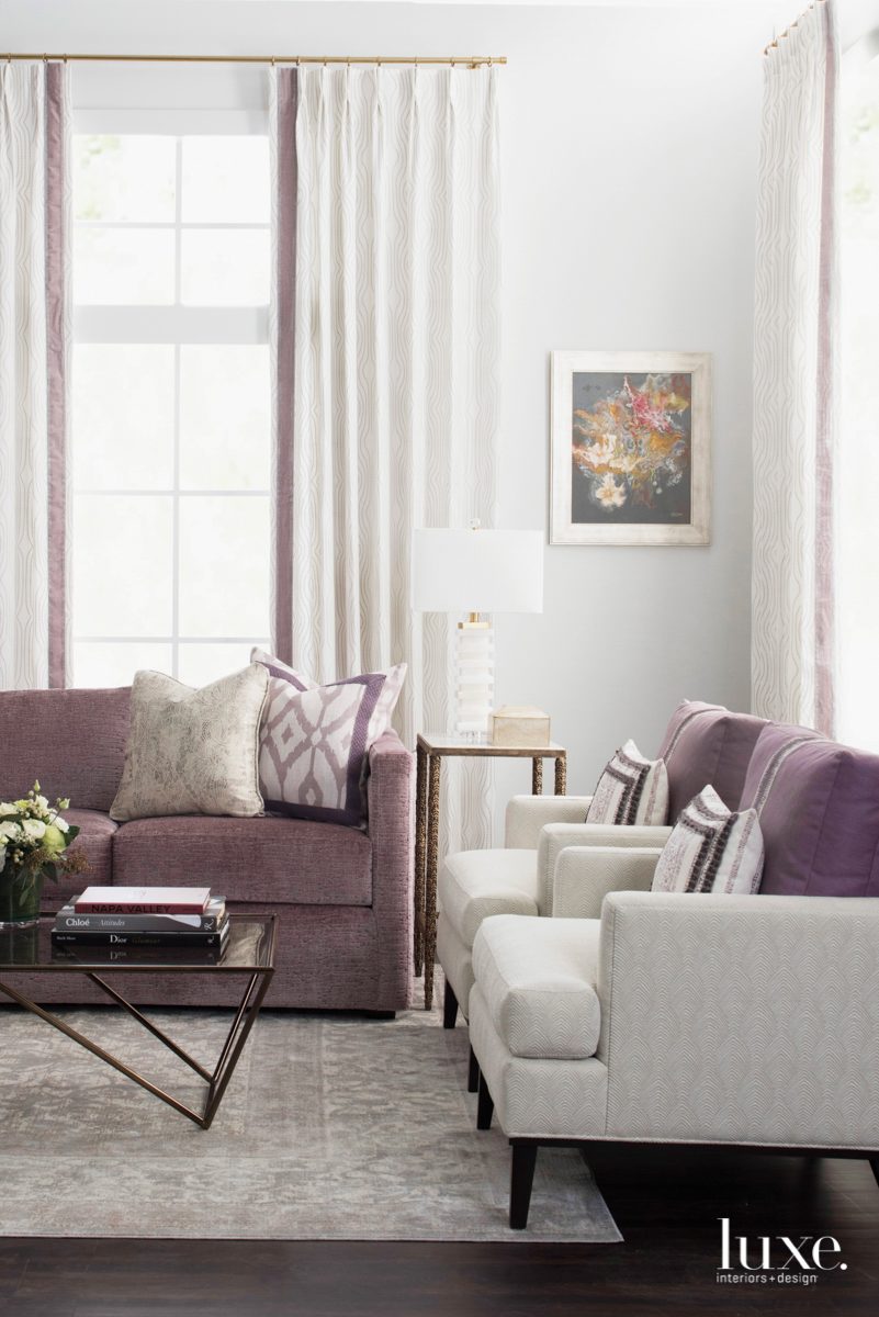 kendall wilkinson purple couch living room
