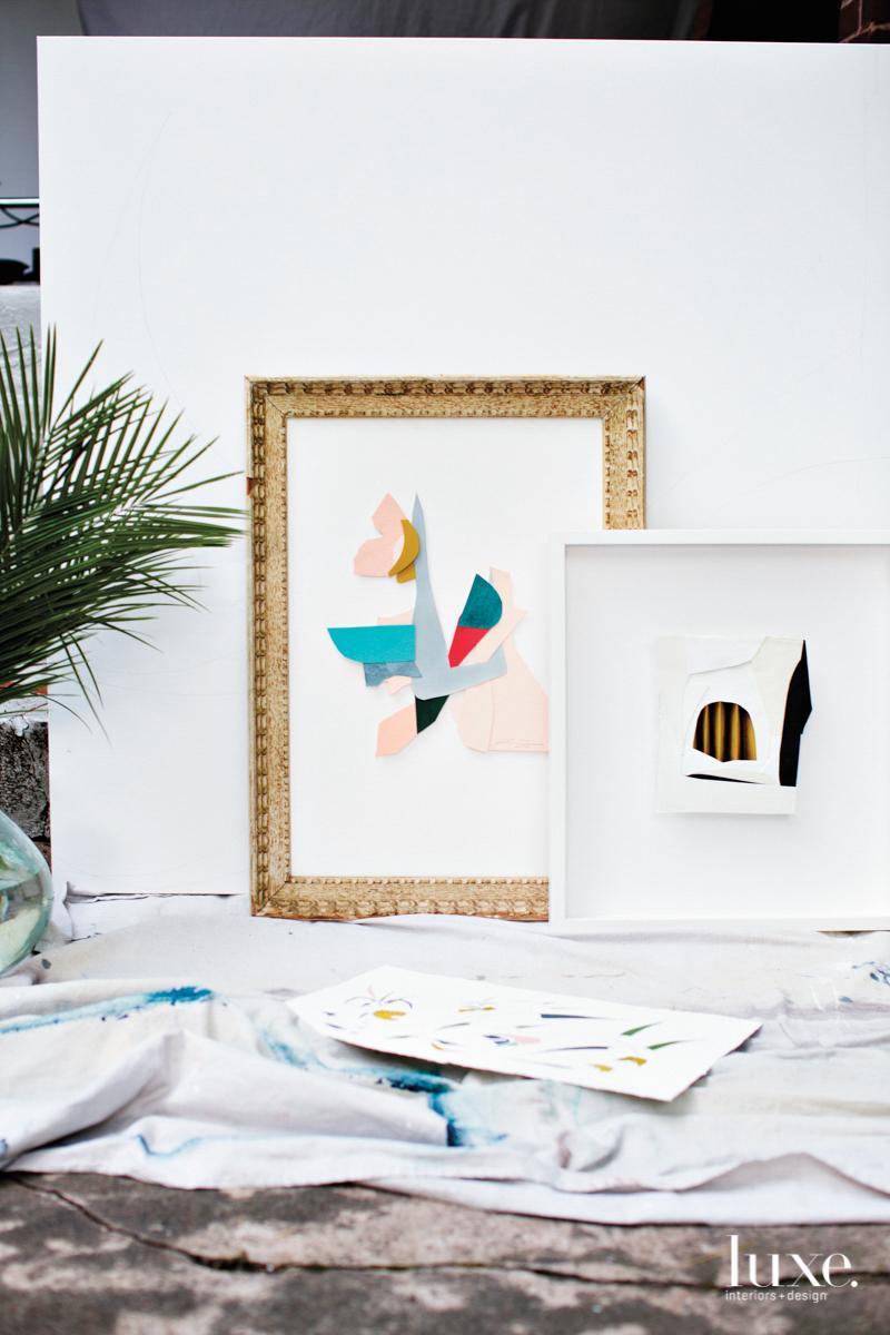 lindsey j porter art gold frame