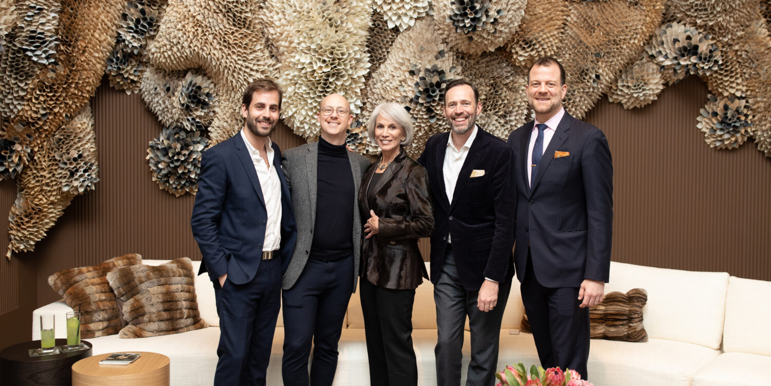 HOLY HUNT Wallcovering Portfolio Launch Party