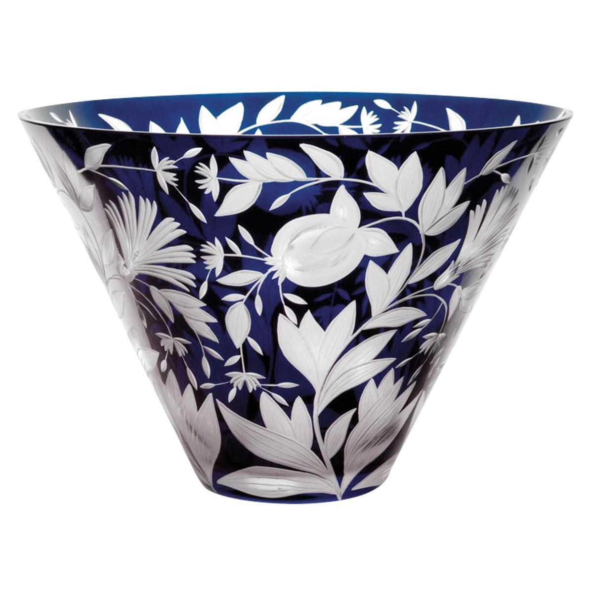 Verdure Large Bowl in Azure by Vera Mauricova & Karen Feldman