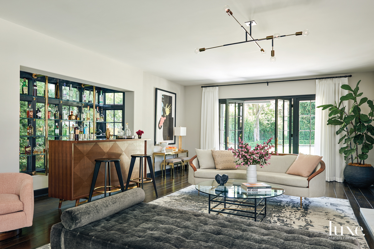 Manor House Meets Modern Life In A Transformed 1930s English Cottage-Style L.A. Home