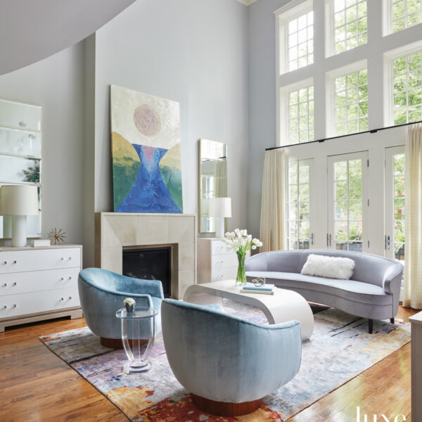 The Mission: Create A Serene Space Where Art Shines. Step Inside This Chicago-Area Retreat.