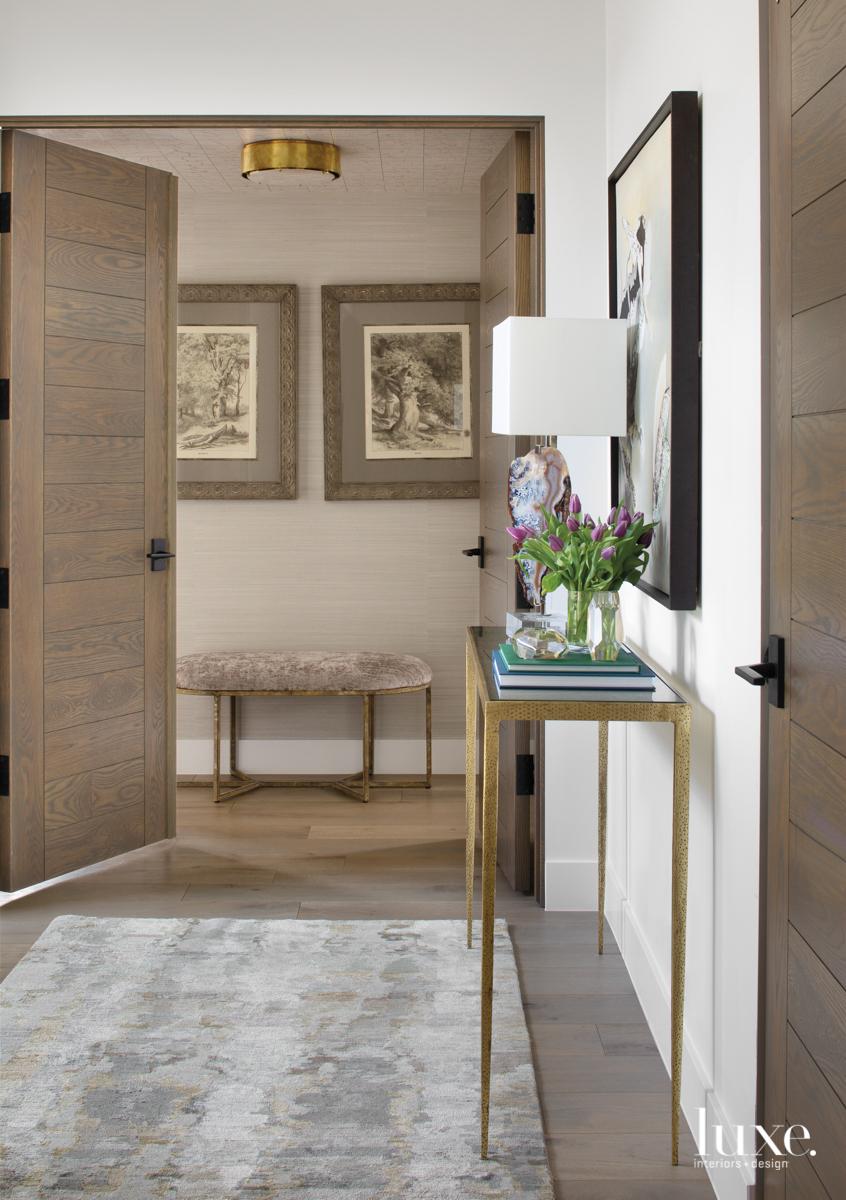 master bedroom entry with bermuda...