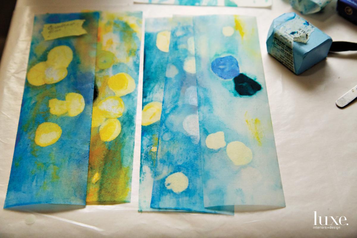jane guthridge blue green sketches