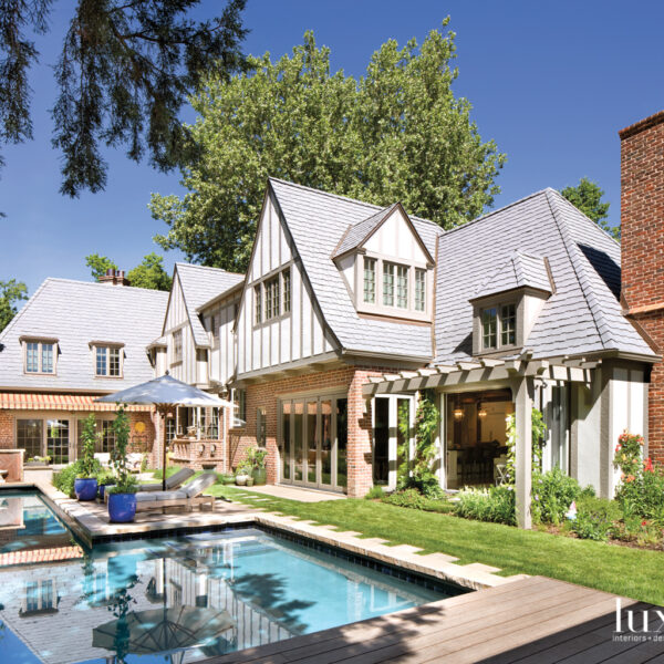 Bring On The Storybook Charm: A Historic Denver Tudor Embraces Playful Patterns