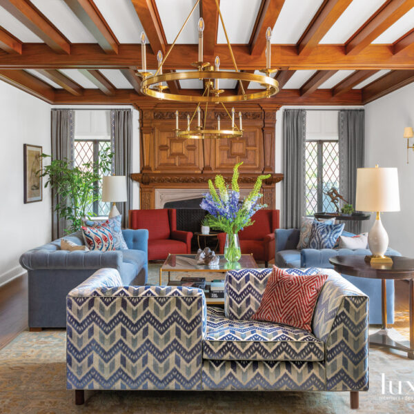 The Vibrant Denver Home With A Speakeasy Original To The 1928 Traditional Tudor