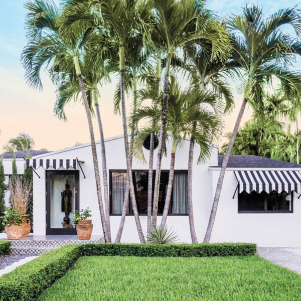 A Chance Encounter At An Airport Lounge Leads To A Globally Inspired Renovation Of A Miami Bungalow