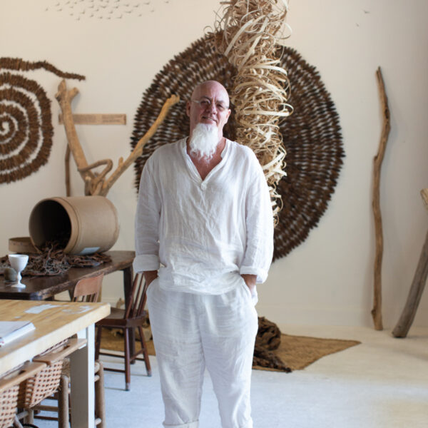 With The Use Of Natural Materials, Florida Artist Creates Art From Philosophy