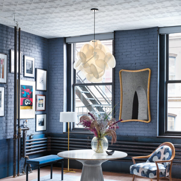 All Hail This Tribeca Family Loft With Dramatic Brick And Elegant Industrial Details
