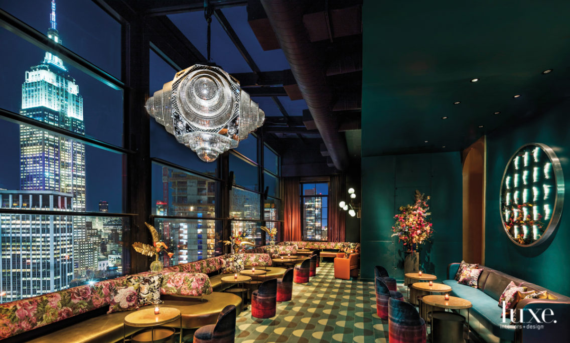 Enjoy 360 Views Of NYC—And A Nod To 'Beauty And The Beast'—At This Intimate Rooftop Bar